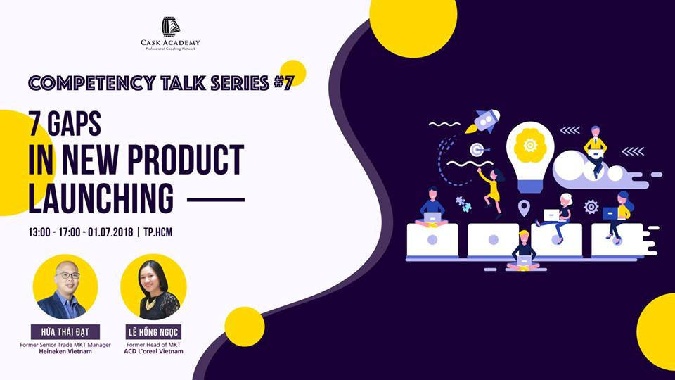 COMPETENCY TALK SERIES #7: 7 Gaps In The New Product Launching