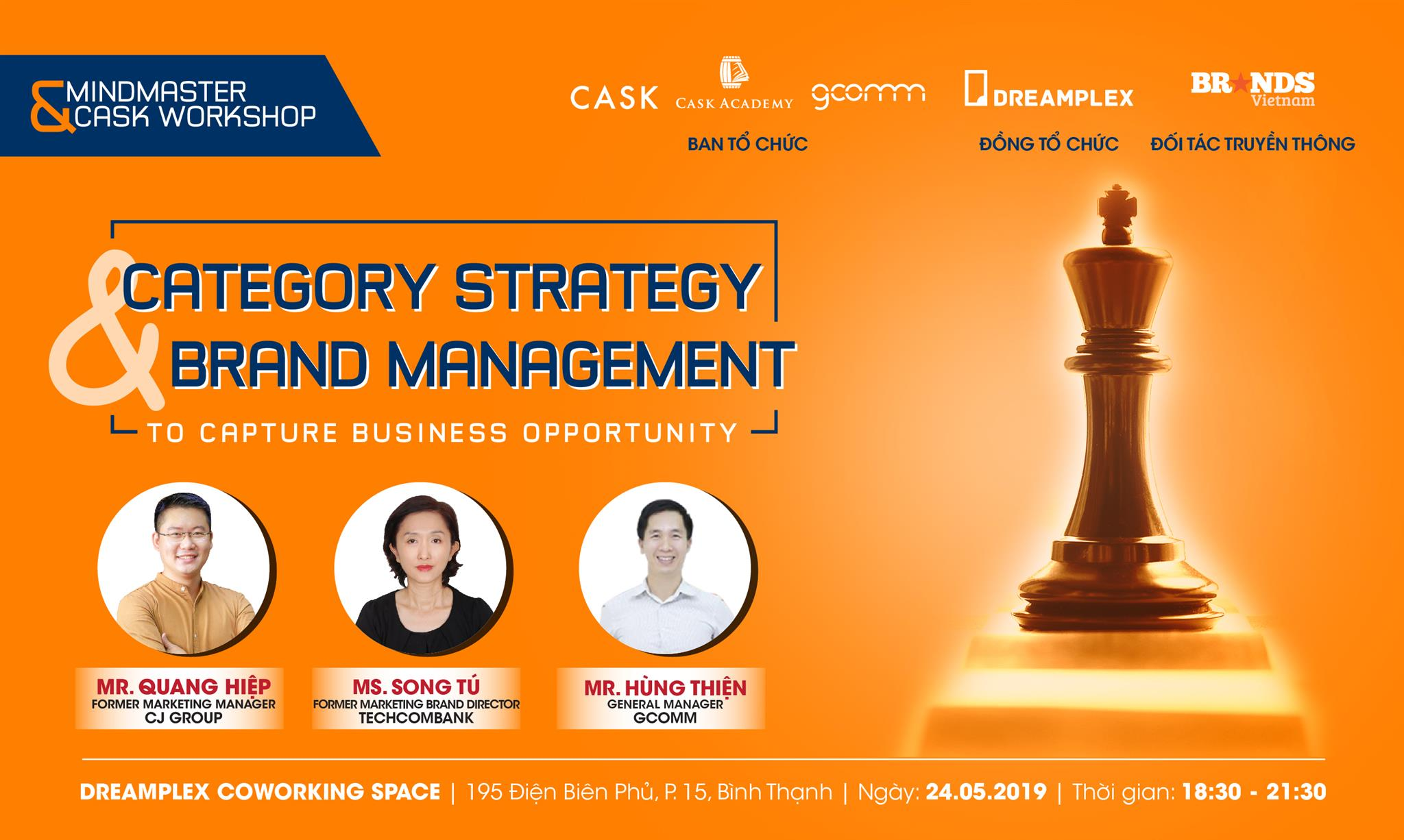 MINDMASTER & CASK SHARING : CATEGORY STRATEGY & BRAND MANAGEMENT
